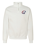SCVA Embroidered Quarter-Zip Cadet Collar Sweatshirt