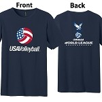 2014 USA Volleyball - World League Tee