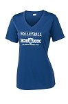 "Ladies V-Neck Dri-Fit ""Worlds Toughest Sport"""