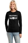 """World Toughest Sport, Volleyball"" Crew"" Sweatshirt"